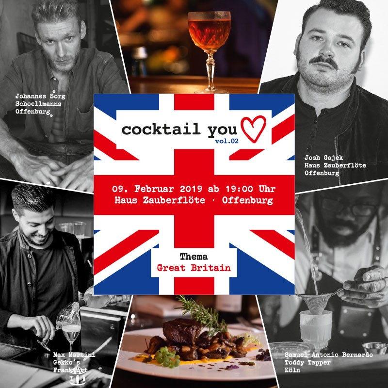 Cocktail You Love Vol.2 - 9.2.2019